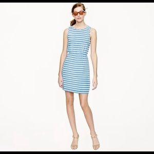 J Crew | Silk Striped Dress